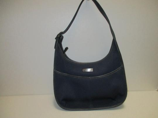 Coach Microfiber Single Strap Hobo Bag Image 3