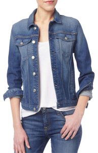 7 For All Mankind 7fam Jean Denim Jean Trucker Classic Womens Jean Jacket