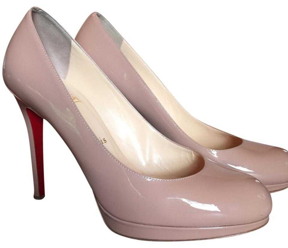Christian Louboutin Nude New Pumps Simple 120mm Patent Pumps New Platforms 35cd12
