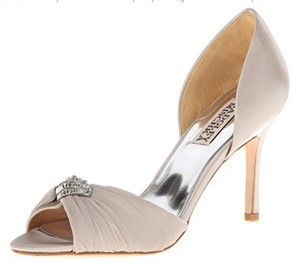Badgley Mischka Badgley Mischka D'orsay Jennifer Silsat Heels Wedding Shoes