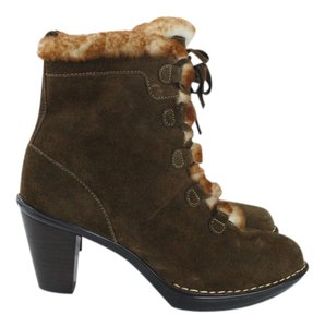 Söfft Suede Faux Ankle Brown Boots