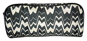 Missoni for Target Missoni For Target Famiglia Black White Cosmetic Bag Clutch