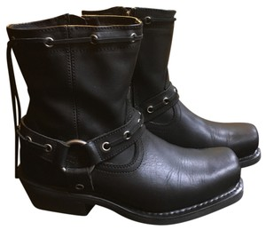 Harley Davidson square toed riding boots Boots