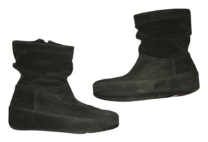 FitFlop Leather Grey Boots