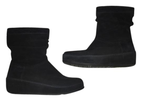 FitFlop Crush Suede Boots/Booties Size