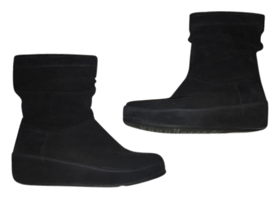 28e64df1e FitFlop Crush Suede Boots Booties Size US 8 Regular (M