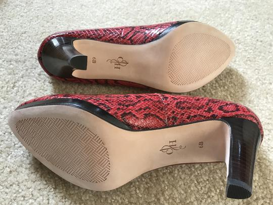 Cole Haan TNG Red SNK Print Pumps Image 2