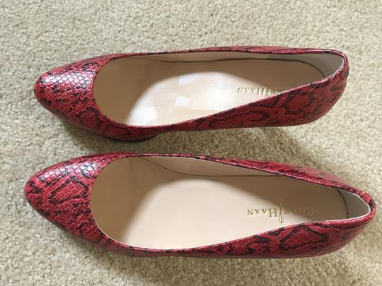 Cole Haan TNG Red SNK Print Pumps Image 3