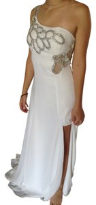Masquerade Prom Beaded Dress