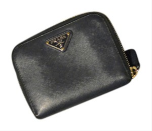Prada Prada leather wallet zip around
