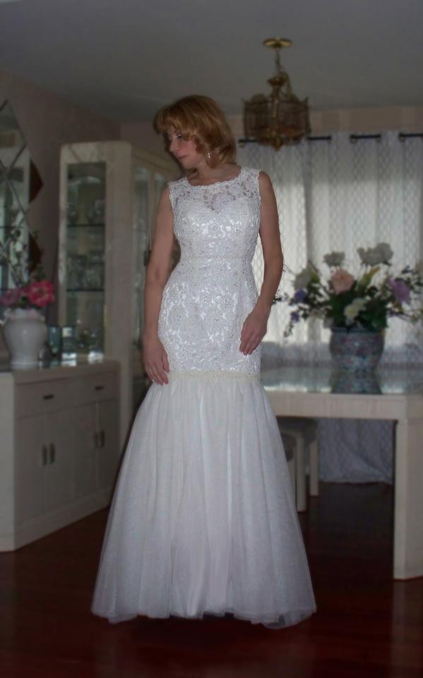 Alfred angelo winter sale wedding dress on sale 83 off for Winter wedding dresses for sale