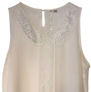 LC Lauren Conrad Top White/Creme