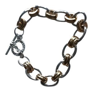 Brooks Brothers Brooks Brothers 346 gold silver tone bracelet