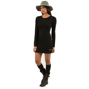 Element short dress Black Sweater Sweetheart Bodycon Lbd on Tradesy