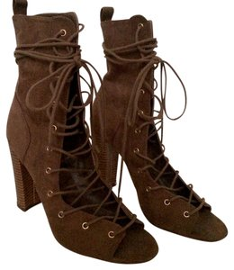 Liliana dark taupe brown Boots