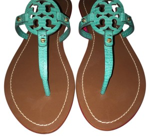 Tory Burch Pond Green Sandals