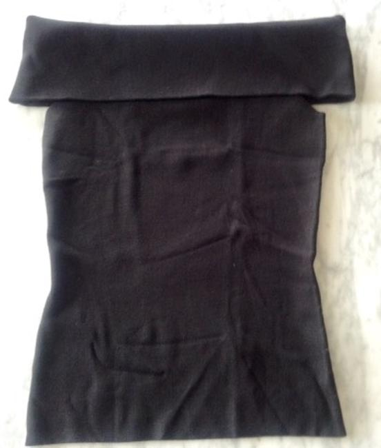 Ann Taylor Stretch Convertible Shoulders Sweater