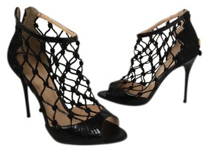 Alexandre Birman Stilettos Cage Lela Black Formal