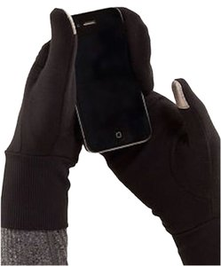 Lululemon Lululemon Brisk Run Mittens - Black NWT