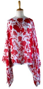 Lisa Nieves Chiffon Floral Party Tunic