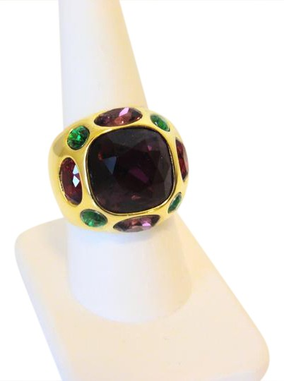 Preload https://img-static.tradesy.com/item/20378989/real-collectibles-by-adrienne-goldtone-dome-9-ring-0-5-540-540.jpg