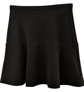 Calvin Klein Rib Knit Business Skirt Black