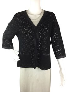 Chanel Silk Openknit Cardigan