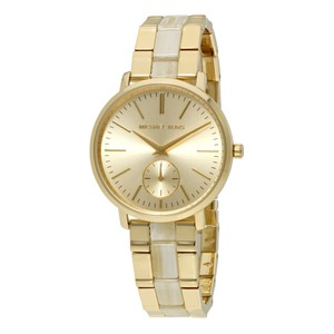 Michael Kors Jaryn Gold Tone And Acetate Watch