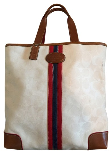 Preload https://img-static.tradesy.com/item/20379117/coach-leather-and-square-casual-french-white-tricolor-stripe-canvas-tote-0-1-540-540.jpg