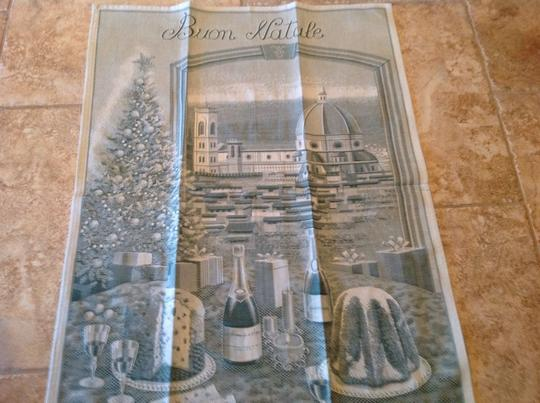 Greens Sur La Table Italian Buon Natale Kitchen Towel Other Image 2