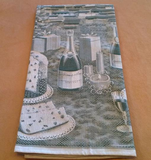 Greens Sur La Table Italian Buon Natale Kitchen Towel Other Image 9