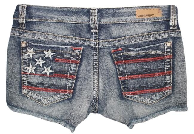 Item - Red White Blue New with Tags Cut Off Distressed Shorts Size 6 (S, 28)
