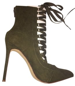 Liliana Olive Green Boots