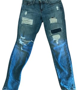 Current/Elliott Skinny Jeans-Distressed