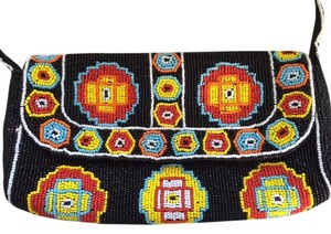La Regale Beaded Statement Fendi Inspired MULTI Clutch