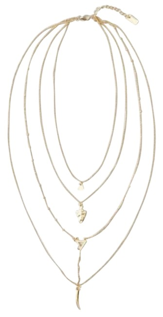 Item - Gold Horn & Arrowhead Layer Necklace
