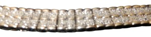 Other vintage TWO CARET DIAMOND BRACLET 925 SILVER AND BRASS