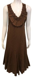 Brown Maxi Dress by cordelia dress