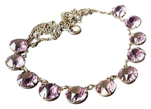 Other ANTIQUE Sterling 925 Sign Deco Amethyst Crystal Choker