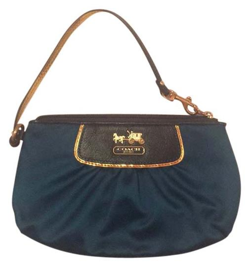 Coach teal blue Clutch Image 0