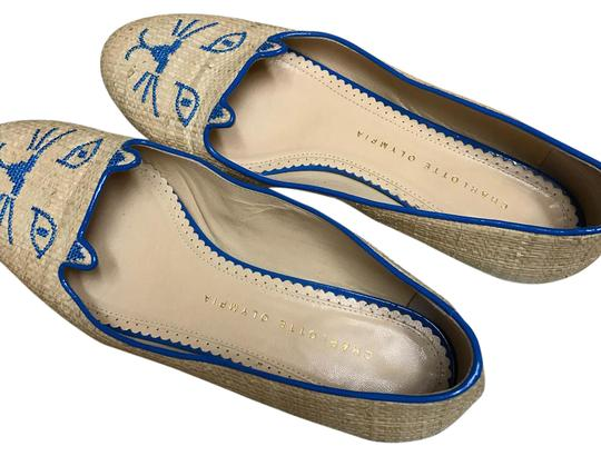 Charlotte Olympia blue Flats Image 0