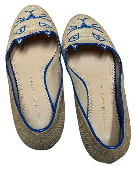 Charlotte Olympia blue Flats Image 1