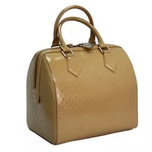 Louis Vuitton Satchel in Camel Beige