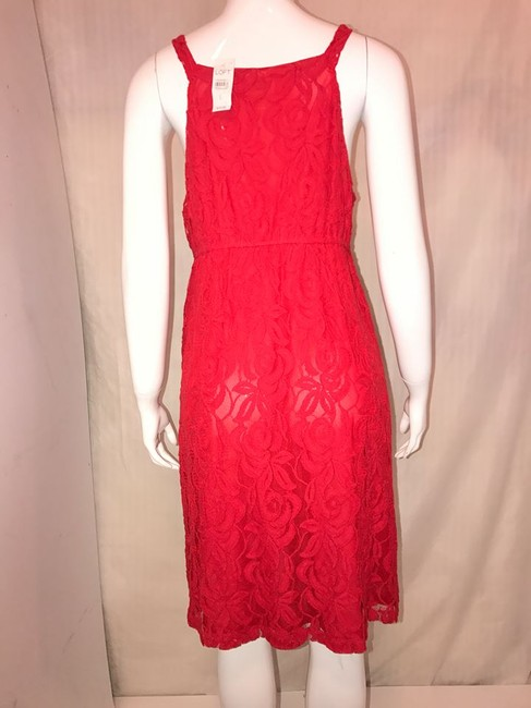 Red Maxi Dress by Loft dress