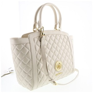 Moschino Satchel in Ivory