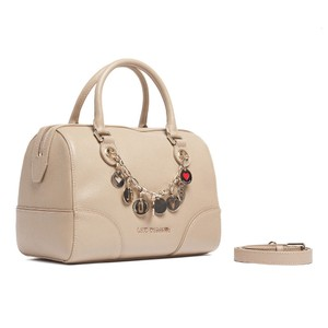Moschino Satchel in Taupe Speedy