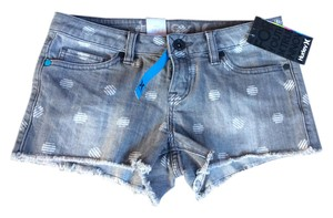 Hurley Cut Off Shorts Denim blue