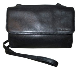 Fossil Vintage Leather Organizer Cross Body Bag