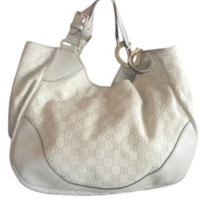 Gucci New Leather Tote Shoulder Bag
