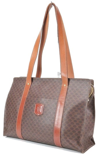 Preload https://img-static.tradesy.com/item/20380685/celine-brown-canvas-and-leather-tote-purse-shoulder-bag-0-0-540-540.jpg